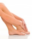 Foot cushioning with dermal fillers