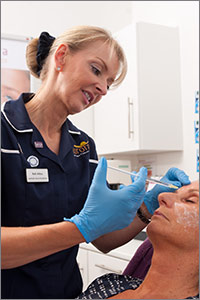 Aurora Skin Clinics: Photo showing Botox treatment