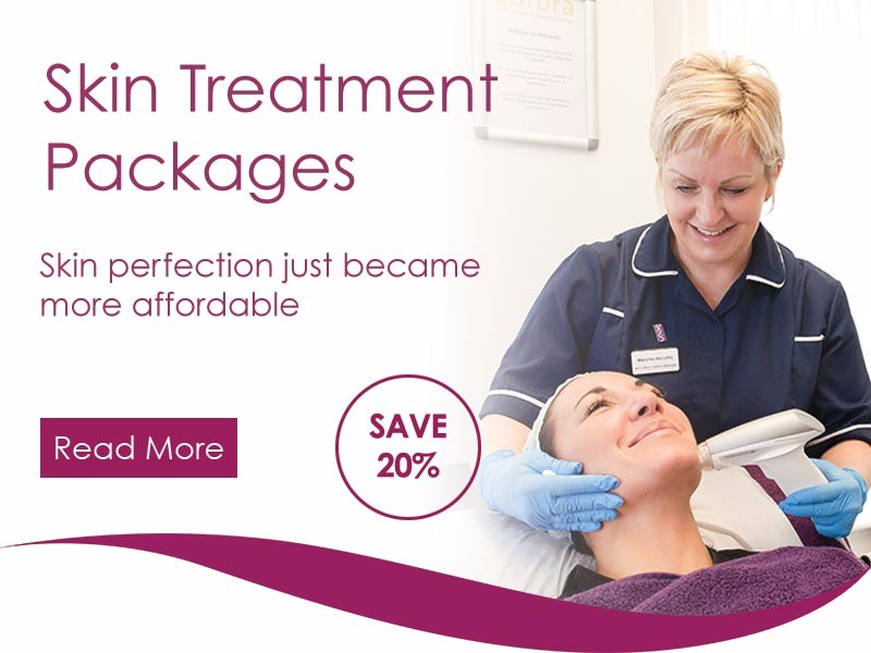 Aurora Skin Clinics: Banner showing our Skin Treatment Packages